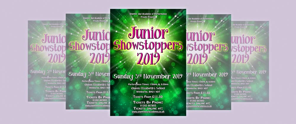 Buy tickets for JUNIOR SHOWSTOPPERS '19