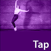 Steppin' Out Academy of Dance classes button tap